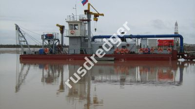 Dredger 3800 by URAL HYDROMECHANICAL PLANT, CJSC