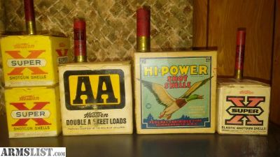 For Trade: Collectible Ammo box's