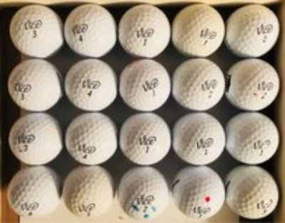 20 Vice used golf balls near mint condition