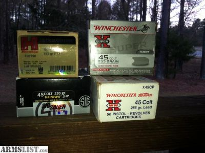 For Sale/Trade: 45 Colt Ammo 100+ Rds