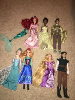 Disney barbies - price is for all