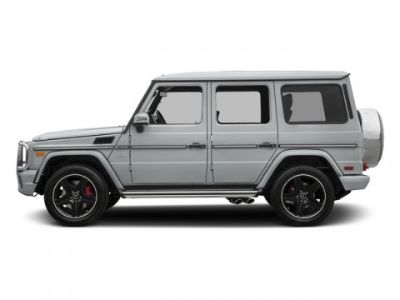 2018 Mercedes-Benz G-Class AMG G 63 (Iridium Silver Metallic)