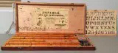 Antique Stamper-Kraft Universal Sign and Chart Printer (circa