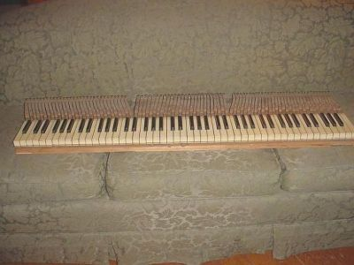 New Piano Key Tops, Piano Key Recovering, Quad Cities and USA
