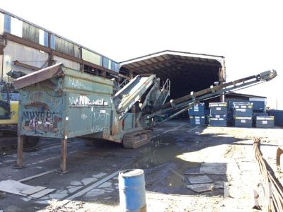Powerscreen Chieftain 1400 Tracked Mobile Screen Plant