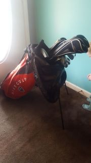 Name brand golf clubs