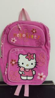 Hello Kitty Brand New Pink Back Pack With Water Bottle New w/o Tags