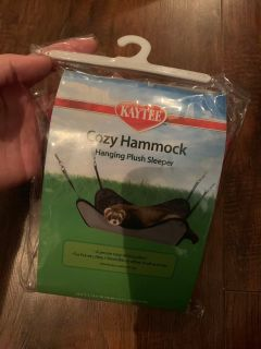 New cozy hammock for pets