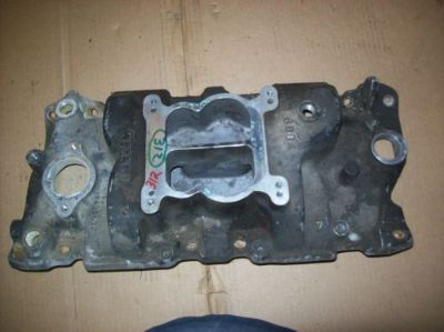Find Small Block Chevy Weiand Aluminum Intake Manifold Part# 8004 vintage restoration motorcycle in Joliet, Illinois, United States, for US $89.95