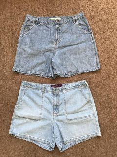 Women s size 14 shorts $5 for both!!