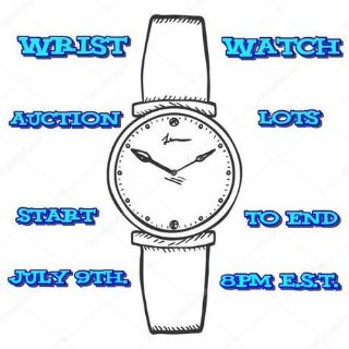 Ladies Wrist Watch Auction