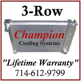 Sell 3 ROW RADIATOR UNIVERSAL GM / CHEVY 20 3/4 x 17 CORE motorcycle in Orange, California, US, for US $223.98