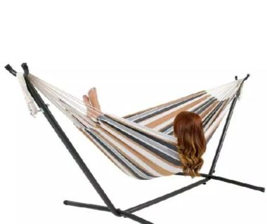 New hammock with stand