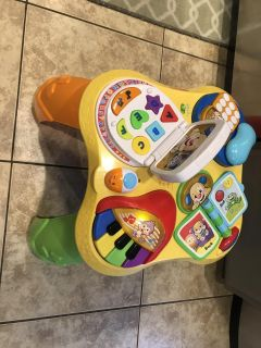 Fisher Price Laugh and Learn Puppy and Friends Learning Table