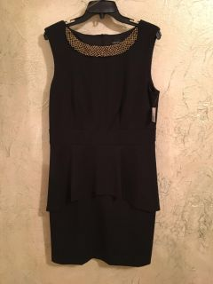 NWT connected apparel dress, size 14, non smoking home, beautiful detailing