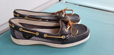 Sperry Top Spider Boat Shoes 9 1/2