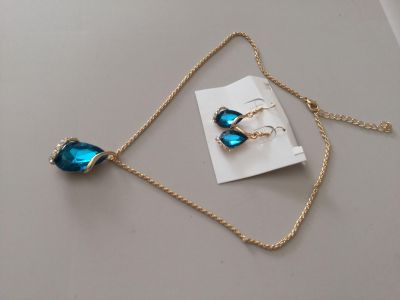 Earrings and necklace gift set.