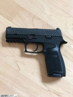 For Sale/Trade: Used Sig Sauer P320 Carry, 9mm