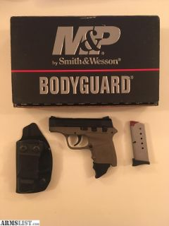 For Sale: Smith and Wesspon M&P Bodyguard - basically new in box