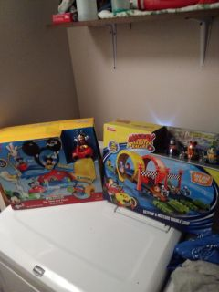 2 brand new mickey mouse sets