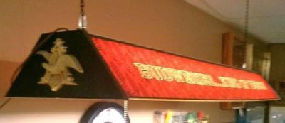$135 The King of Beers! Vintage Budweiser light (Biloxi)