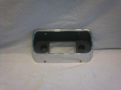 Purchase Original Ford 1967 1968 Mustang Radio mounting plate motorcycle in Dade City, Florida, US, for US $149.95