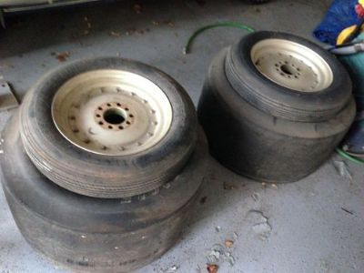 Buy Vintage Cragar Super Trick wheels with Trikes racecar motorcycle in Hutchinson, Kansas, United States, for US $1,000.00