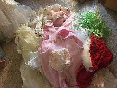 Baby dolls and tons of clothes