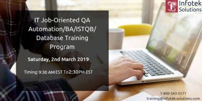 IT Job-Oriented Software testing(QA)/BA/ISTQB Training Program