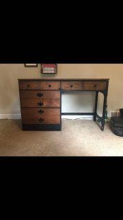 Refinished desk!