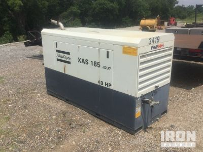 2013 Atlas Copco XAS185JDU7 Air Compressor