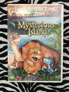 DVD The Land Before Time The Mysterious Island