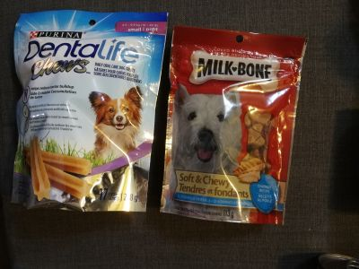 NEW - Dog Treats - Individually Priced or both for $5