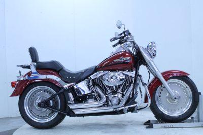 2007 Harley-Davidson FLSTF Softail Fat Boy Cruiser Motorcycles Adams, MA