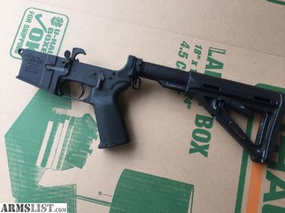 For Sale: Anderson AR15 Lower with Magpul Furniture