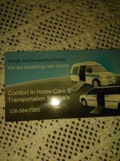 Senior Care Provider & Transportation