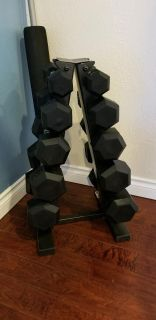 Brand New In Boxes 5-25 lb dumbbell set