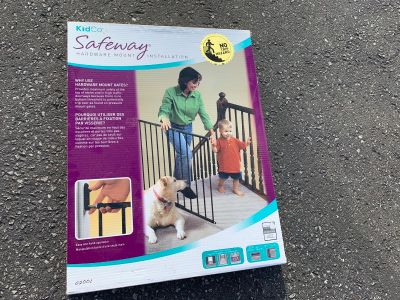 Kid safety gates, 3 sets, priced individually