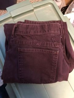 Great pair of riders purple jeans. Women s size 14P. $5.00