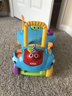 Ride and push toy
