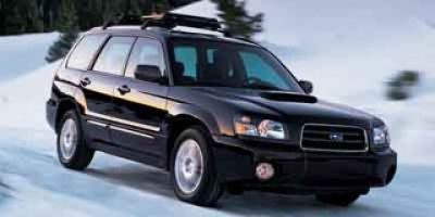2004 Subaru Forester XT (Black)