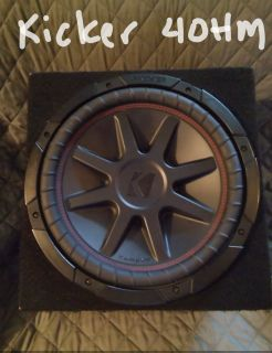 Kicker Comp VR12 4OHM Sub-woofer