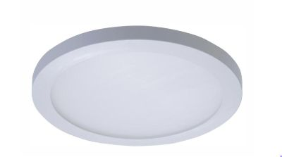 SMD 5 in. and 6 in. 3000K Soft White Integrated LED Recessed Round Surface Mount Ceiling Light Trim