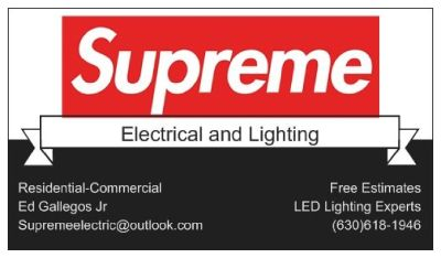 Supreme electrical and lighting (630)6181946