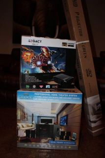 Home Theater Projector and System