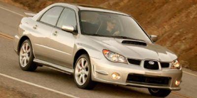2007 Subaru Impreza WRX TR (Crystal Gray Metallic)