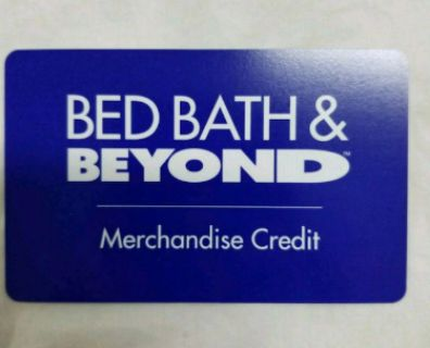 $215 GC at Bed Bath and Beyond