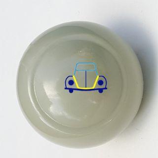 Beetle - Bus - Ghia Shifter Knob, 10mm, Grey