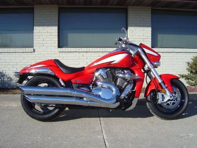 2013 Suzuki Motor of America Inc. Boulevard M109R Limited Edition Cruiser Motorcycles Winterset, IA