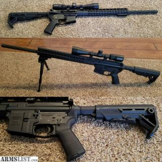 For Sale: PSA ar15 with scope, 2 stage trigger and more